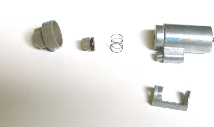 Crosman 1077 Valve Detent Parts and Disassembly