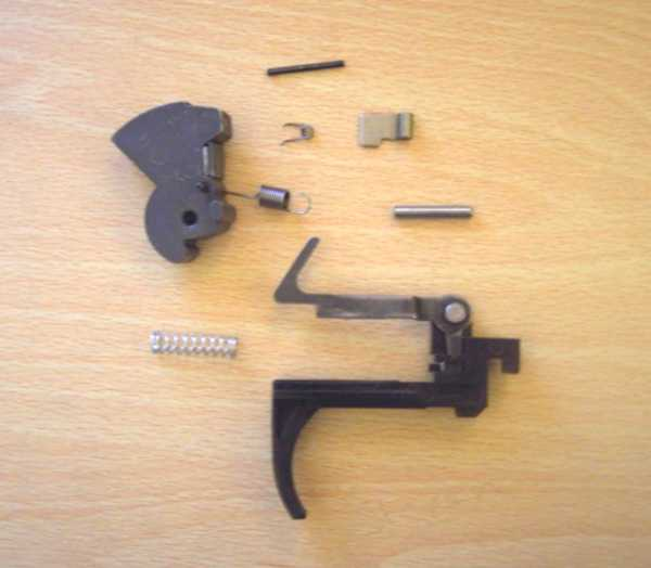 Crosman 1077 Trigger and Hammer Removal