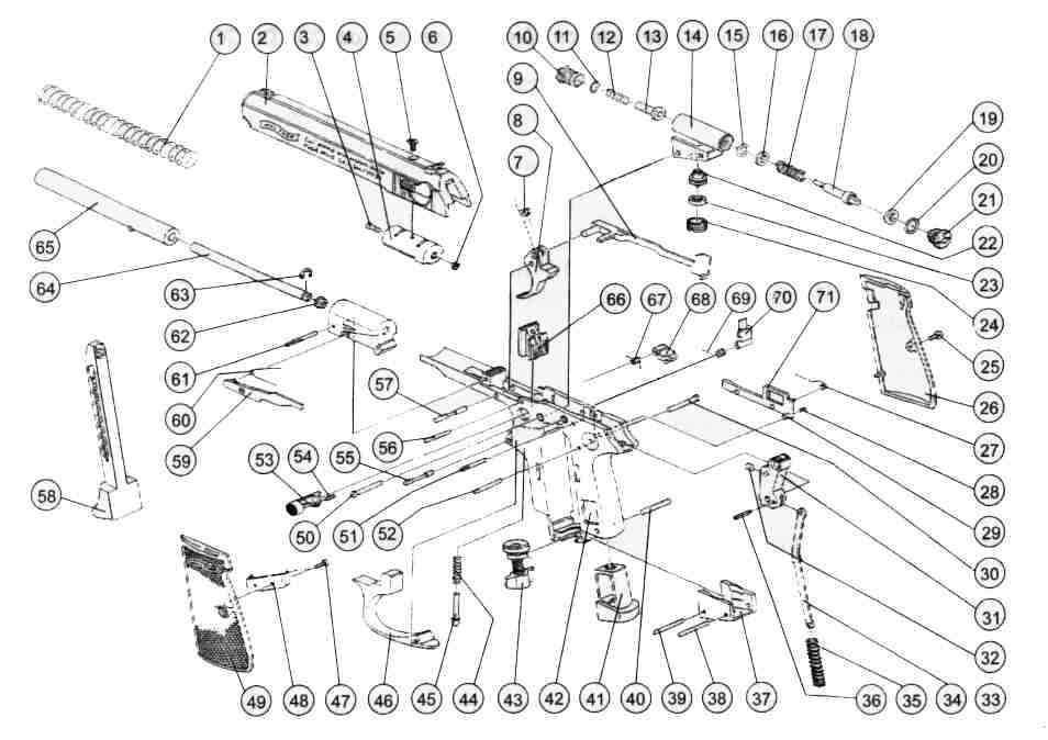 walther ppk co2 parts diagram all wiring diagram Walther Trigger Bar Pictures
